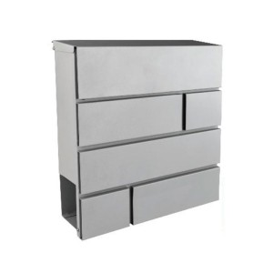Γραμματοκιβώτιο Εξωτερικού Χώρου με Θήκη Εφημερίδων - Σχέδιο 41599