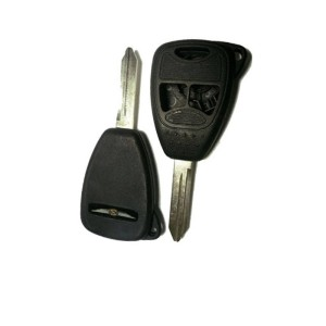 Κέλυφος Κλειδιού Αυτοκινήτου Chrysler με 3 Κουμπιά- Type 3