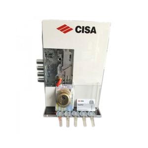 Κλειδαριά Θωρακισμένης Πόρτας Cisa Revolution Pro Σετ με Κύλινδρο Asix Pro & Defender