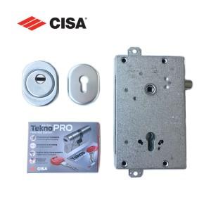 Σετ Κλειδαριά Θωρακισμένης Πόρτας Cisa με Κύλινδρο Cisa Astral Tekno Pro & Defender