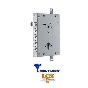 Κλειδαριά  Θωρακισμένης Πόρτας Mul-T-Lock Los με Καταπέλτη Νέας Τεχνολογίας