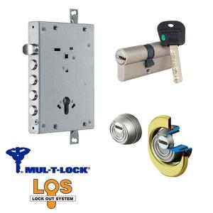 Κλειδαριά Θωρακισμένης Πόρτας Mul-T-Lock Los με Κύλινδρο Integrator & Defender Disec