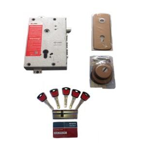 Κλειδαριά Θωρακισμένης Cisa Revolution Pro με Κύλινδρο Mauer Red Line 2 & Defender