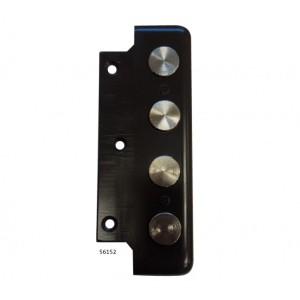 Κλειδαριά Κουτιαστή  Cisa 56152 με Κέντρο 60mm