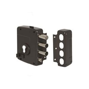 Κλειδαριά Κουτιαστή Cisa 56157 με Κέντρο 60mm