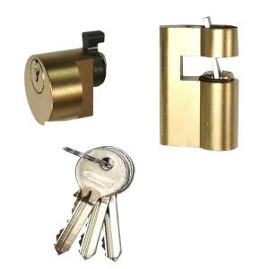 Κύλινδρος Απλός Κουτιαστής Κλειδαριάς Zeiss Ikon