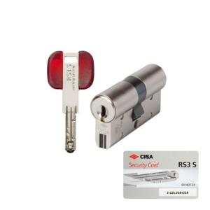 Κύλινδρος Ασφαλείας Cisa RS3 S με Προστασία Αντιγραφής