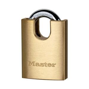 Λουκέτο Ορειχάλκινο με Προστατευόμενο Λαιμό Master Lock 2240 / 2250EURD