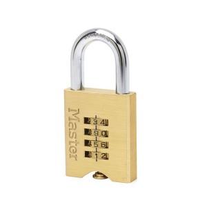 Λουκέτο με Κωδικό Τεσσάρων Ψηφιών Master Lock 651D
